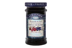 Джем Cramberry with Blueberry St Dalfour с/б 170г