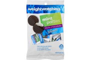 Weightwatchers Mint Patties Dark Chocolate