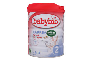 Смесь из козьего молока для детей 6-12мес Caprea 2 Babybio ж/б 800г