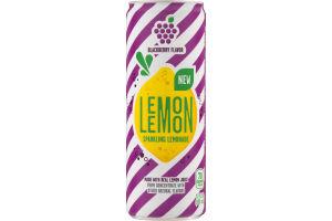 Lemon Lemon Sparkling Lemonade Blackberry Flavor