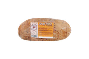 Хлеб со льном нарезной Прилуцький хлібозавод м/у 0.28кг