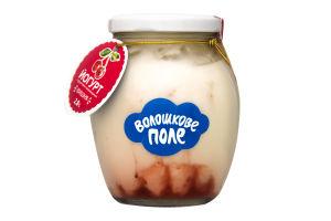 Йогурт 2.8% Вишня Десертный Волошкове поле с/б 350г