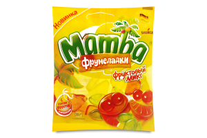 Мармелад жевательный Mamba Фрумеладки Фруктов микс