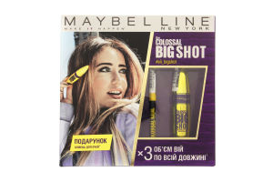 Набор декоративной косметики The Colossal Big Shot Maybelline 1шт
