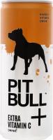 Напій енергетичний безалкогольний сильногазований Extra Vitamin C Pit Bull з/б 250мл