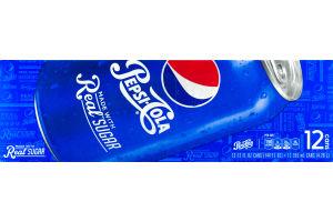 Pepsi-Cola Real Sugar - 12 CT