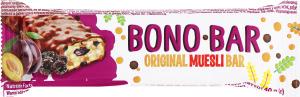 Батончик мюслі з чорносливом глазурований Bono Bar Vale м/у 40г