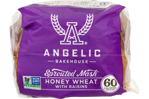 Angelic Bakehouse Sprouted Honey Wheat Bread With Raisins