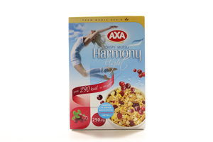 Мюсли с клюквой Harmony light Axa к/у 250г
