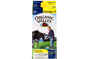 Organic Valley 2% Reduced Fat Omega-3 Milk
