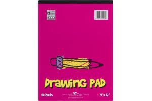 """Roaring Spring Drawing Pad 9""""x12"""" - 40 Sheets"""