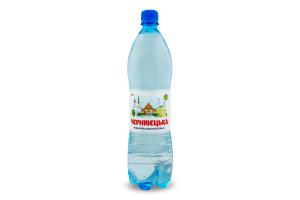 Вода питна сильногазована Чернівецька п/пл 1л