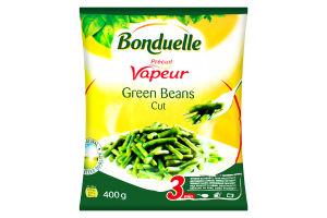 Фасоль стручковая зеленая резаная замороженная Bonduelle м/у 400г
