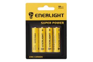 Батарейка AA 1.5V R6 Super Power Enerlight 4шт