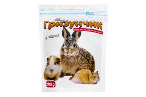 Корм для декоративних гризунів Гризунчик Premium Продукт д/п 600г