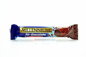 Шоколад пористый молочный Millennium 32г