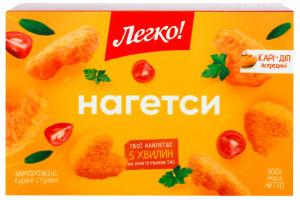 Наггетсы куриные замороженные Легко! к/у 300г