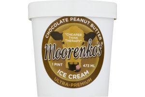 Moorenko's Ice Cream Chocolate Peanut Butter