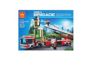 Конструктор Пожарные 431дет D`1