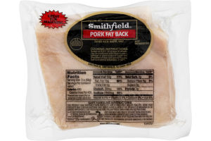 Smithfield Pork Fat Back