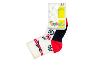 Шкарпетки дитячі Tuptusie 13-15 різнокольорові