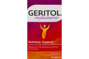 Geritol Multivitamin Nutrition Support Tablets - 100 CT