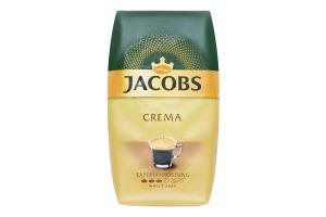 Кофе натуральный жареный в зернах Crema Jacobs м/у 500г