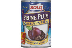 Solo Cake & Pastry Filling Prune Plum