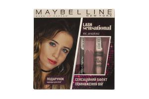 Набор декоративной косметики Lash Sensational Maybelline 1шт