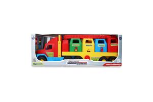 Машина Вантажівка Смiттєвоз малий Super Wader