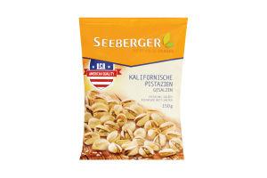 Фісташки Seeberger смажені солоні 150г