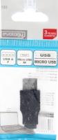 ПЕРЕХІДНИК USB ГН / МІКРОUSB ШТ EVOLOGY