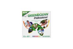 Порошок для прання кольорових тканин Professional Green&Clean 1,2 кг