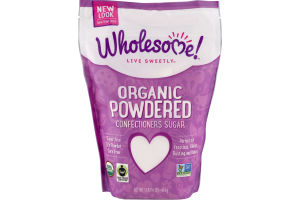 Wholesome Organic Powdered Confectioners Sugar