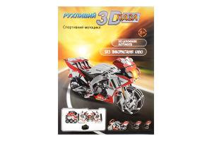Заводной 3D-пазл Hope Winning Спортивный мотоцикл