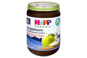 Каша для детей от 4мес молочная с яблоками и грушами Спокойной ночи Hipp с/б 190г