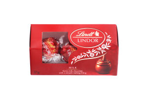 Цукерки Lindor з молочного шоколаду 37 г