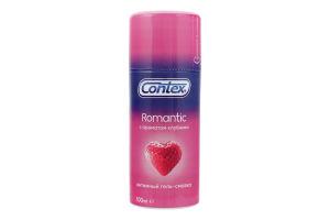 Гель-смазка интимная с ароматом клубники Romantic Contex 100мл