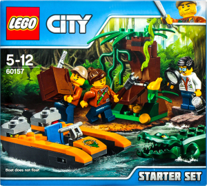 LEGO® City Набор Джунгли для начинающих 60157