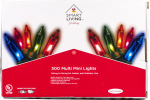 Smart Living Holiday Multi Mini Lights - 300 CT