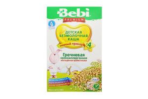 Каша безмолочна для дітей від 4міс низькоалергенна Гречана Premium Bebi к/у 200г