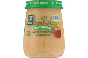 Beech-Nut Naturals Apple, Cinnamon & Granola Stage 2