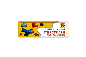 Пластилін Улюблені іграшки Гама 5 кольорів