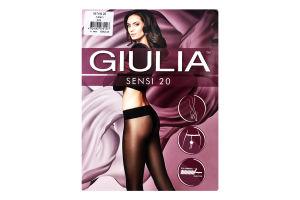 Колготки жіночі Giulia Sensi 20den 2-S nero