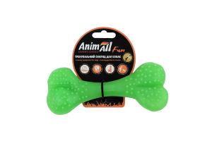 Снаряд тренувальний для собак 15см зелений №88125 Кістка Fun AnimAll 1шт