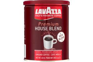 Lavazza Premium House Blend 100% Premium Arabica Ground Coffee