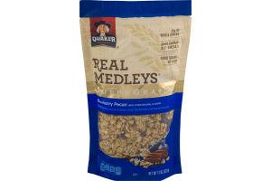Quaker Real Medleys Super Grains Blueberry Pecan