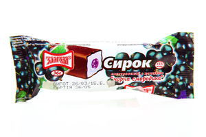 Сирок Злагода глазурований Смородина 15% 36г х45