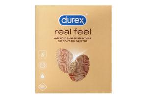 Презервативи Real Feel Durex 3шт