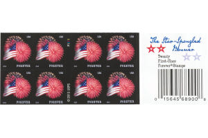 USPS First-Class Forever Stamps The Star Spangled Banner - 20 CT